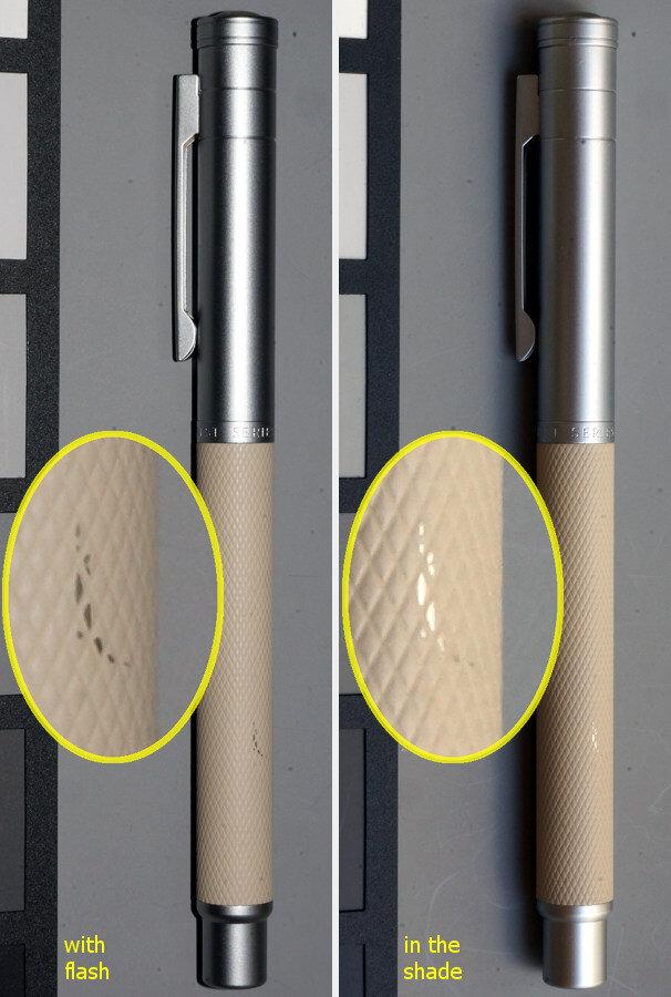 Coating on barrel of Hong Dian model 1850 can be damaged
