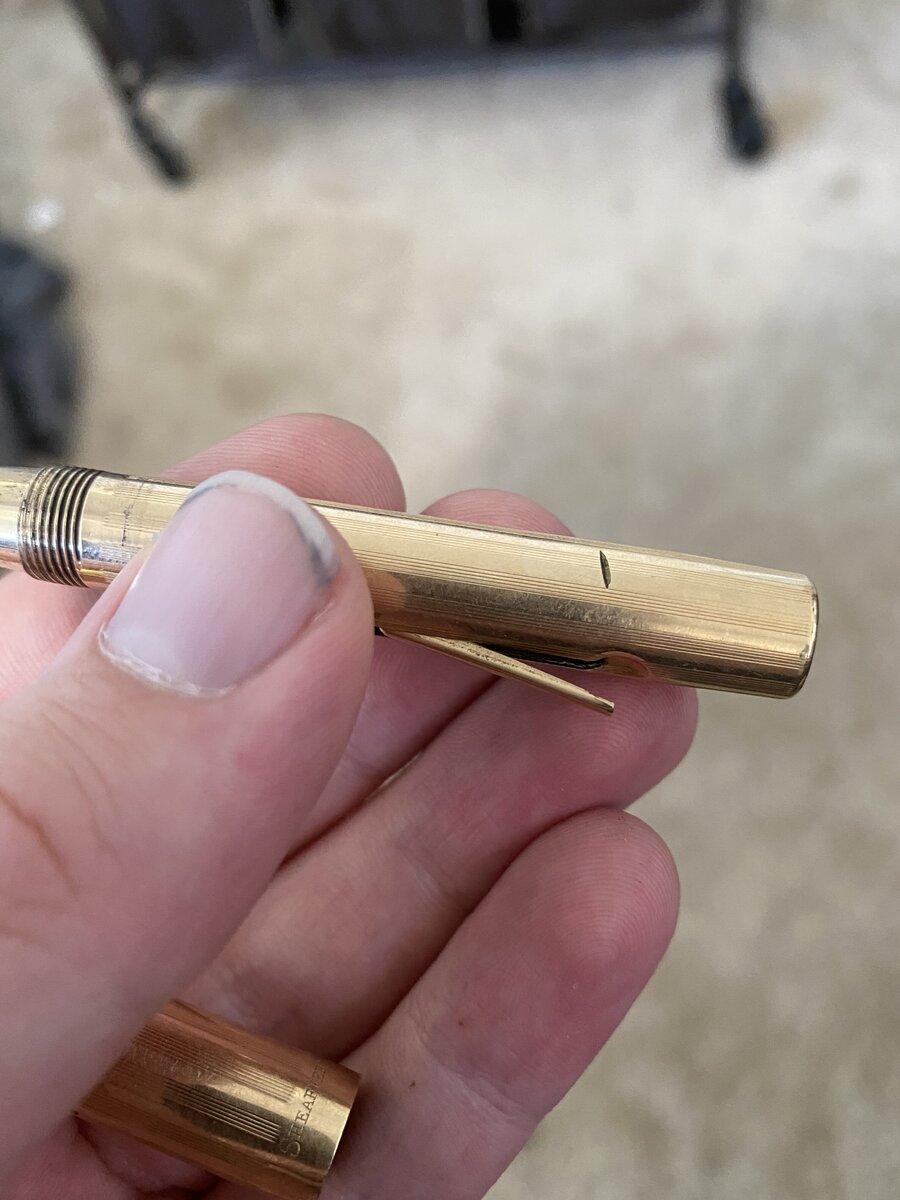 Gold Filled (?) Sheaffer