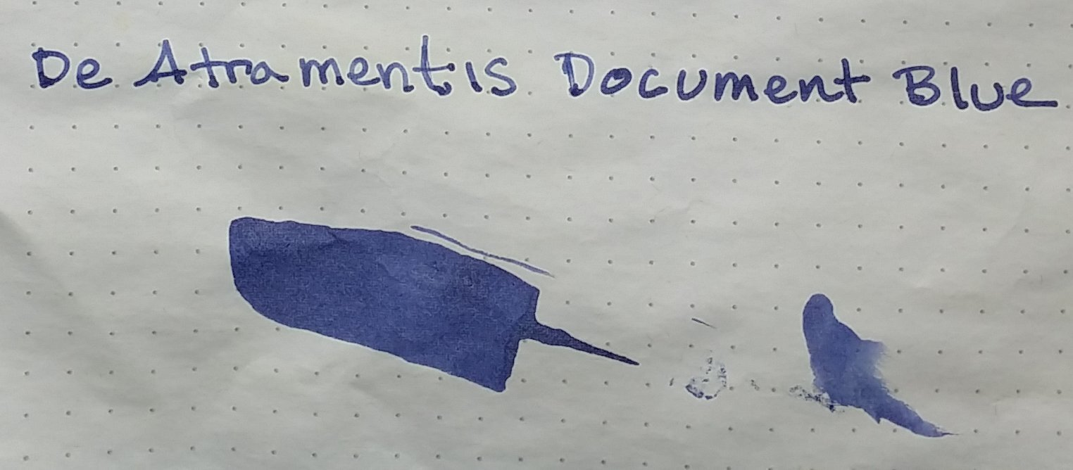 DeAtramentisDocumentBlueL