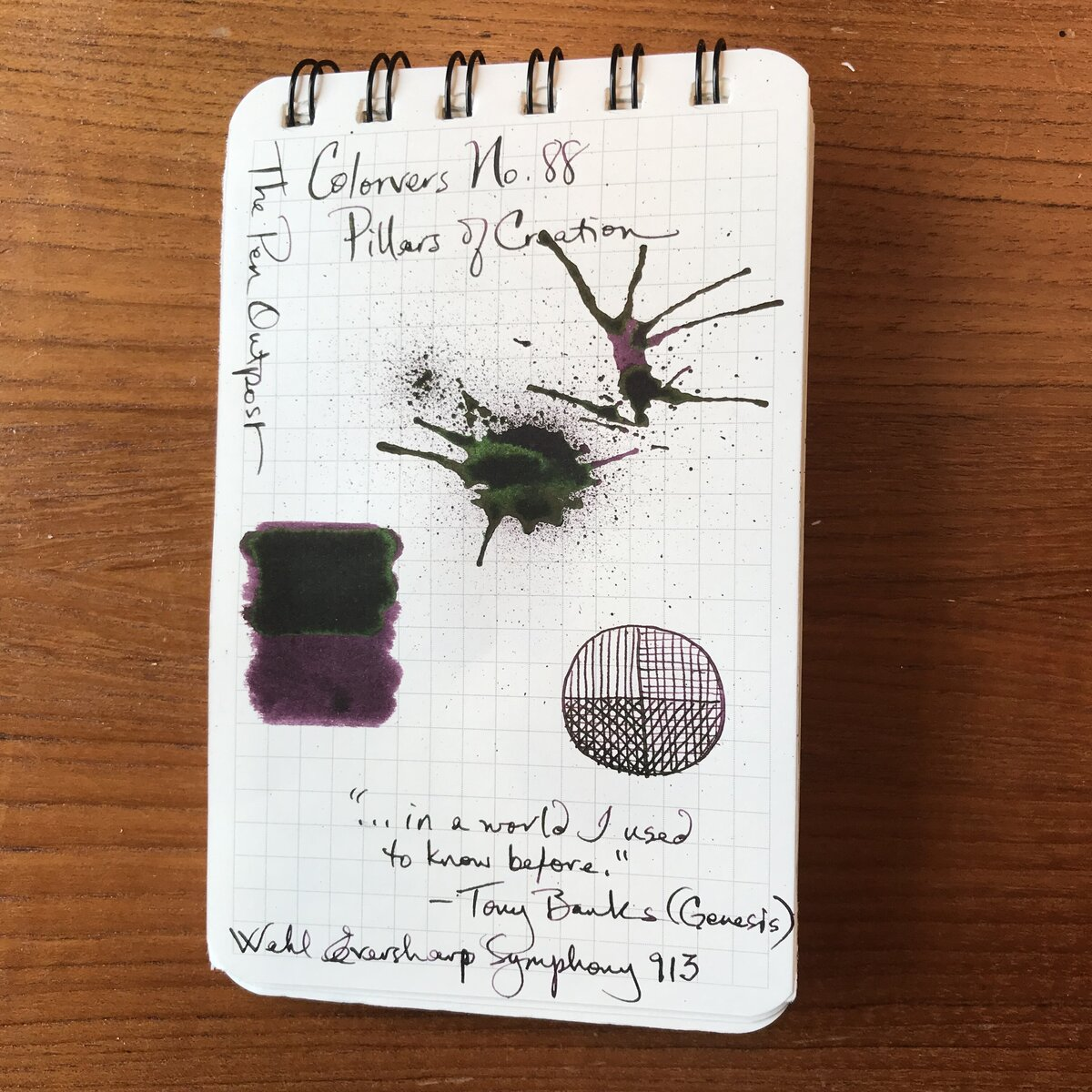 Ink Journal Entries