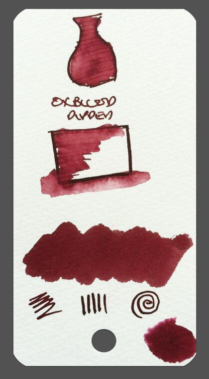 Tas - ink swatches 2
