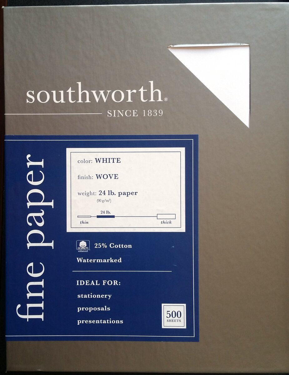 southworth white wove  24lbs 25pct cotton packaging side a.jpg