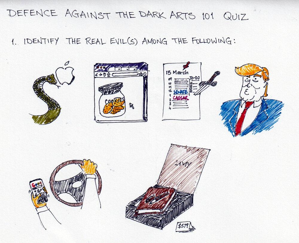Defence Against The Dark Arts 101 quiz
