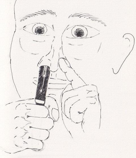Sonnet ink evaporation fix