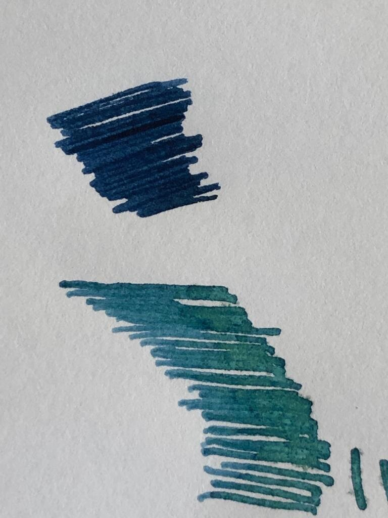 Waterman Mysterious blue