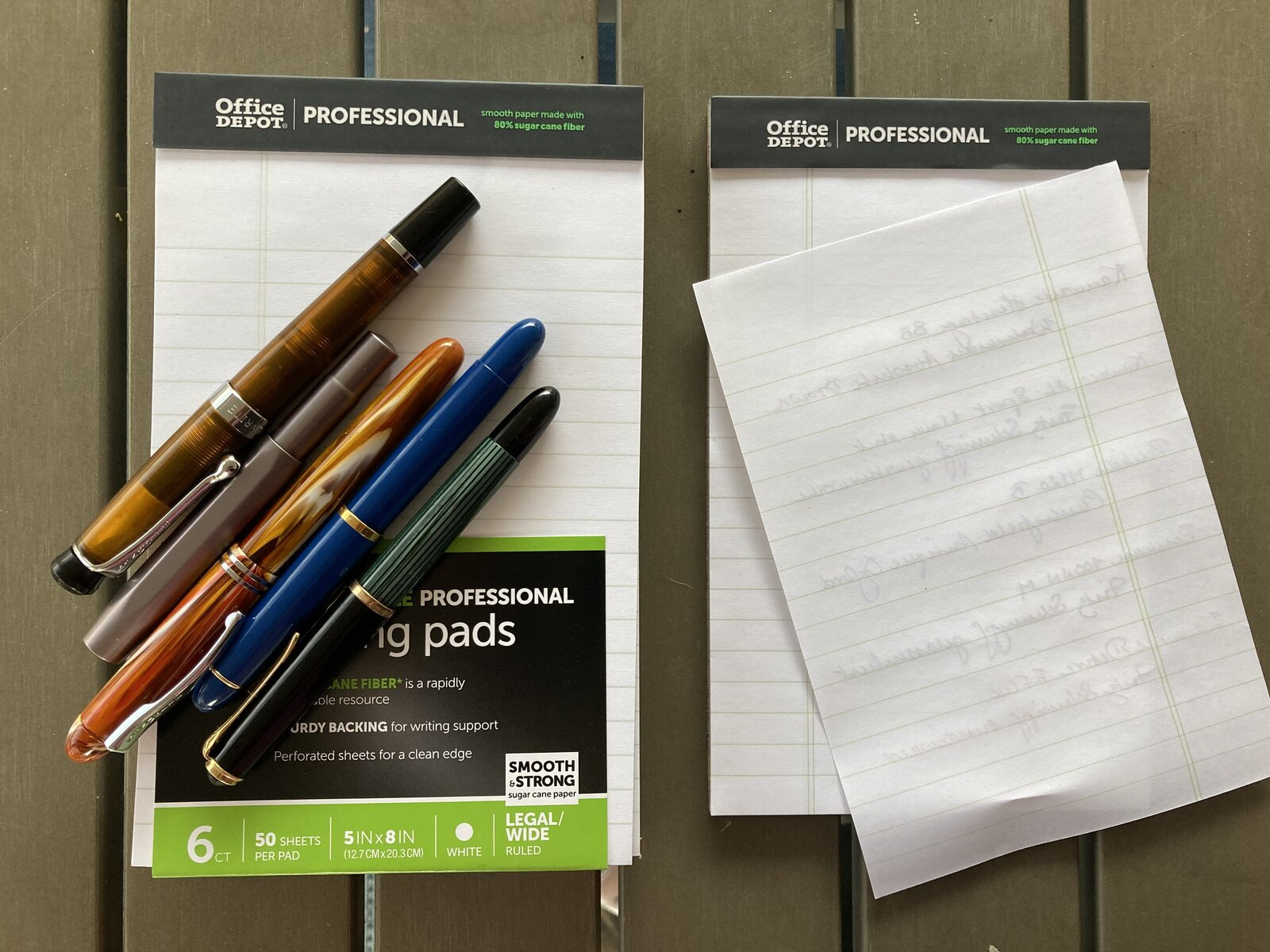 Office Max/Office Depot sugar cane paper