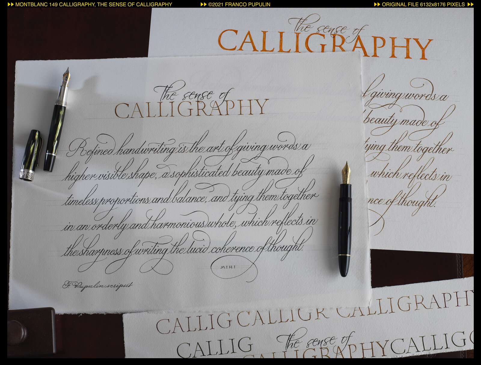 Montblanc 149 Calligraphy, The sense of Calligraphy with trials ©FP.jpg