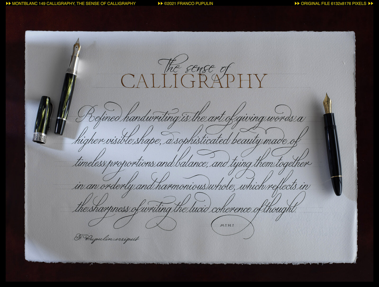 Montblanc 149 Calligraphy, The sense of Calligraphy with pens ©FP.jpg