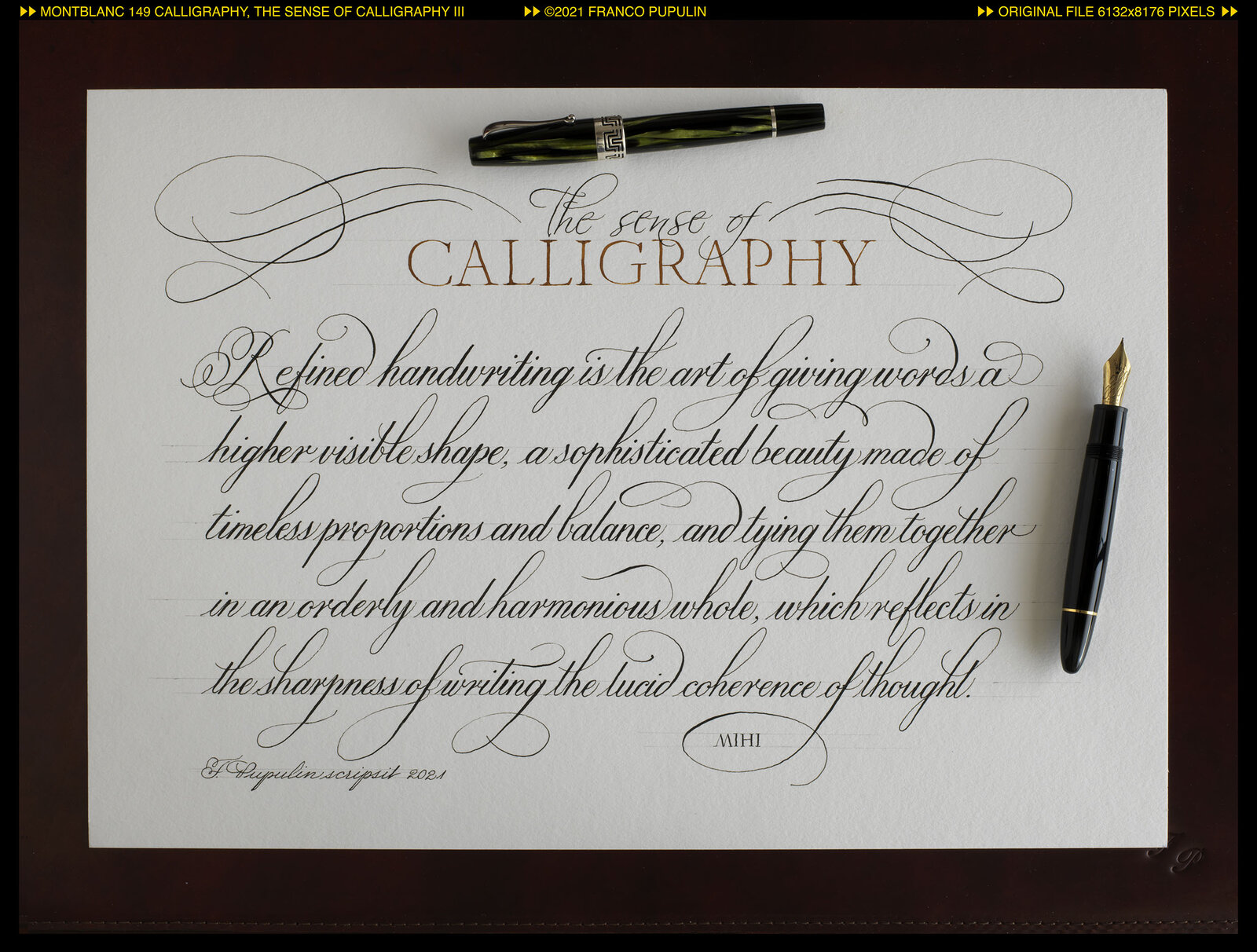 Montblanc 149 Calligraphy, The sense of Calligraphy III (with pens) ©FP.jpg