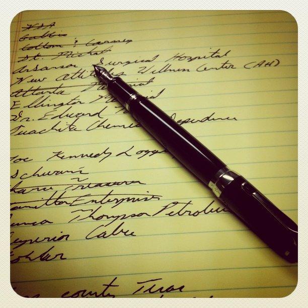 Faber-Castell e-motion fountain pen review