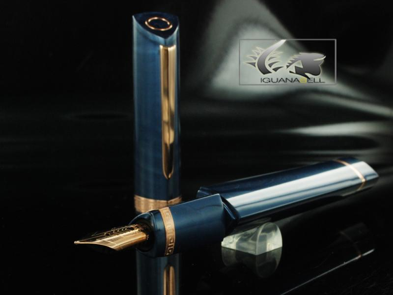 Attached Image: Omas-Fountain-Pen-360-My-2011-Blue-Resin-&-Rose-Gold-O03A0050-O03A0050-21.jpg