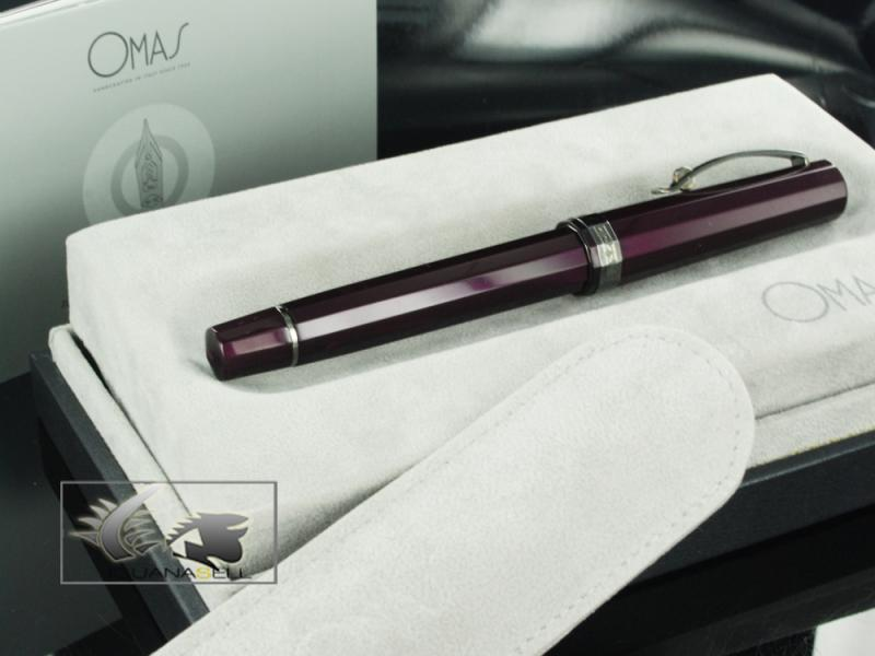 Attached Image: Omas-Fountain-Pen-Milord-Maroon-Resin-&-Ruthenium-O02A0077-O02A0077-61.jpg