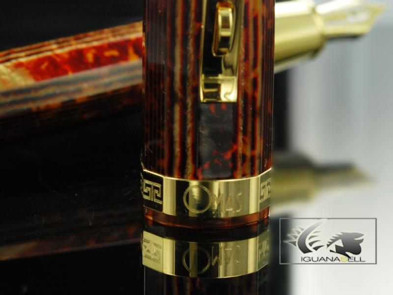 Attached Image: Omas-Fountain-Pen-Paragon-Arco-Brown-Celluloid-and-Gold-Trim-O02A0049-O02A00049-41.jpg