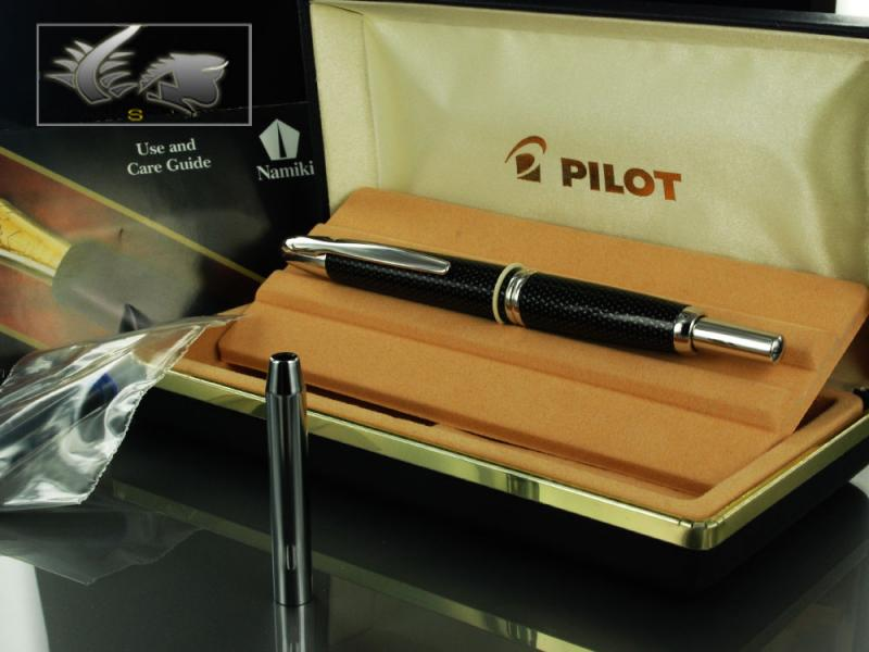 Attached Image: Pilot-Vanishing-Point-Fountain-Pen-Carbonesque-Black-60246-81.jpg