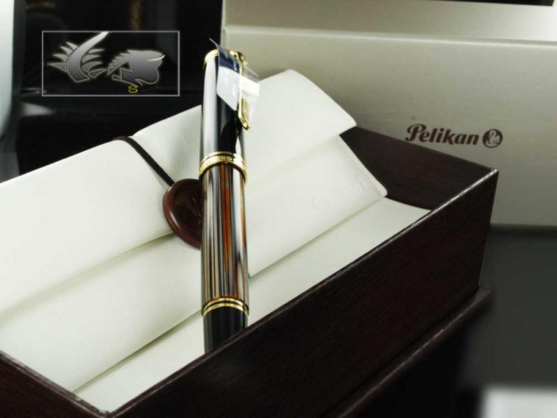 Attached Image: Pelikan-Fountain-Pen-Souveran-M800-Brown-Tortoise-Shell-Special-ed.-915702-101.jpg