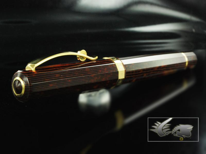 Attached Image: Omas-Fountain-Pen-Paragon-Arco-Brown-Celluloid-and-Gold-Trim-O02A0049-O02A00049-21.jpg