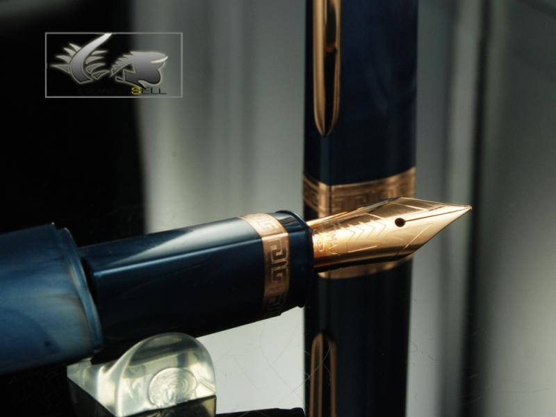 Attached Image: Omas-Fountain-Pen-360-My-2011-Blue-Resin-&-Rose-Gold-O03A0050-O03A0050-31.jpg