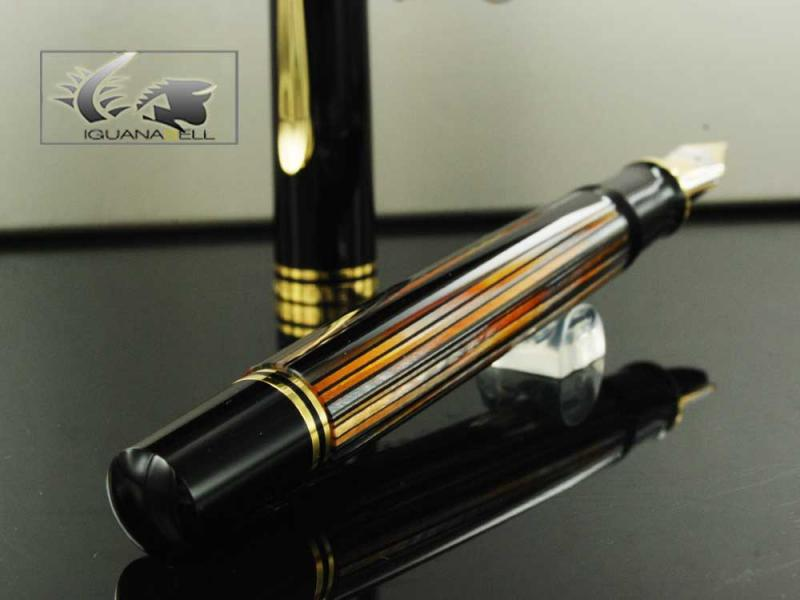 Attached Image: Pelikan-Fountain-Pen-Souveran-M800-Brown-Tortoise-Shell-Special-ed.-915702-91.jpg