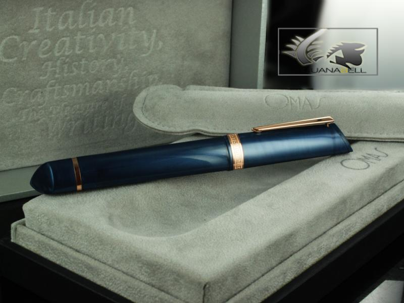 Attached Image: Omas-Fountain-Pen-360-My-2011-Blue-Resin-&-Rose-Gold-O03A0050-O03A0050-61.jpg