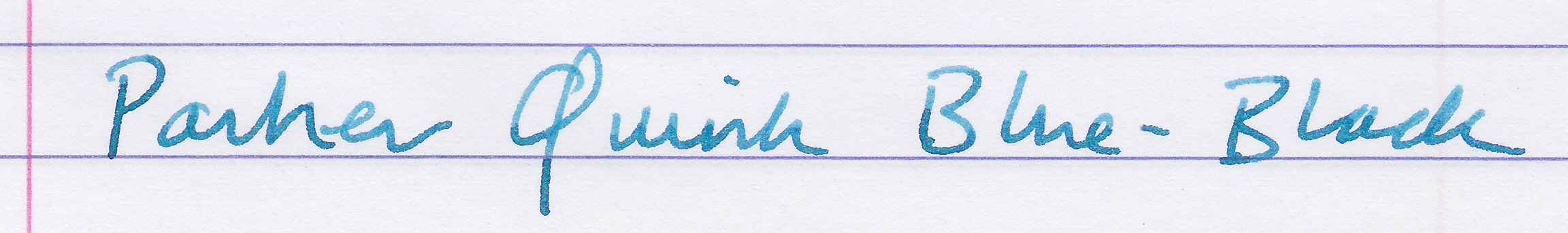 waterman blue black   ink comparisons   the fountain pen