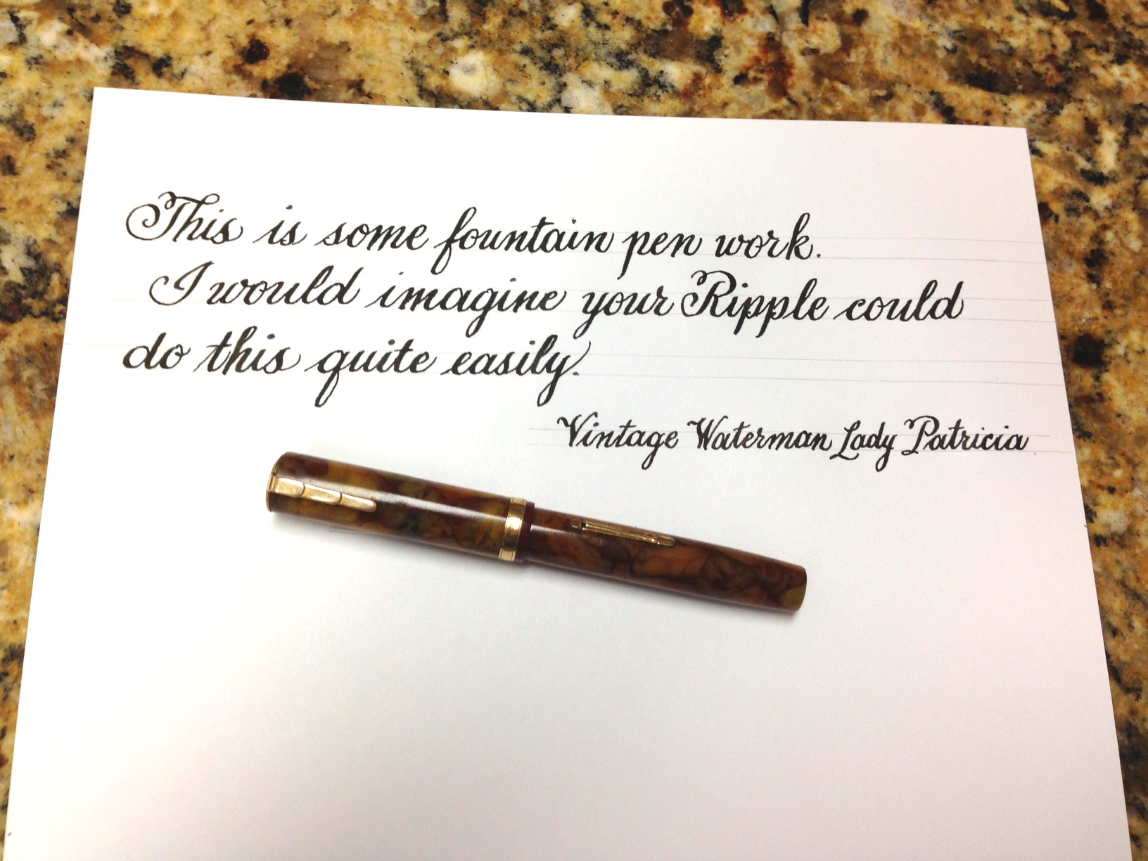 Famous waterman quotes