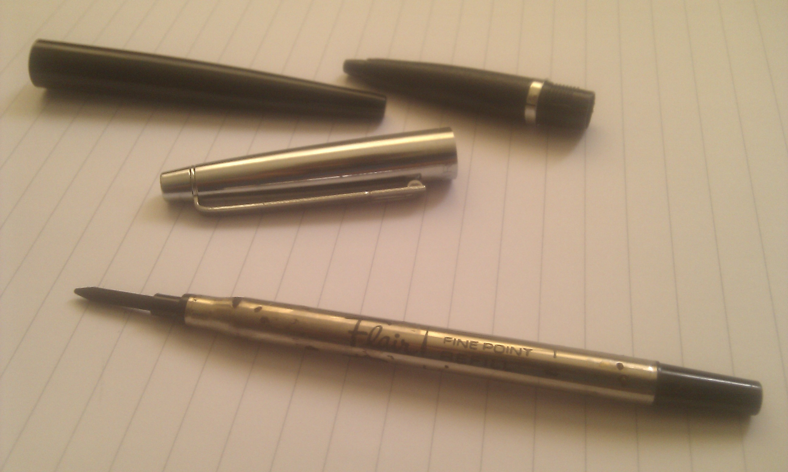 how to fix dried ink in pen