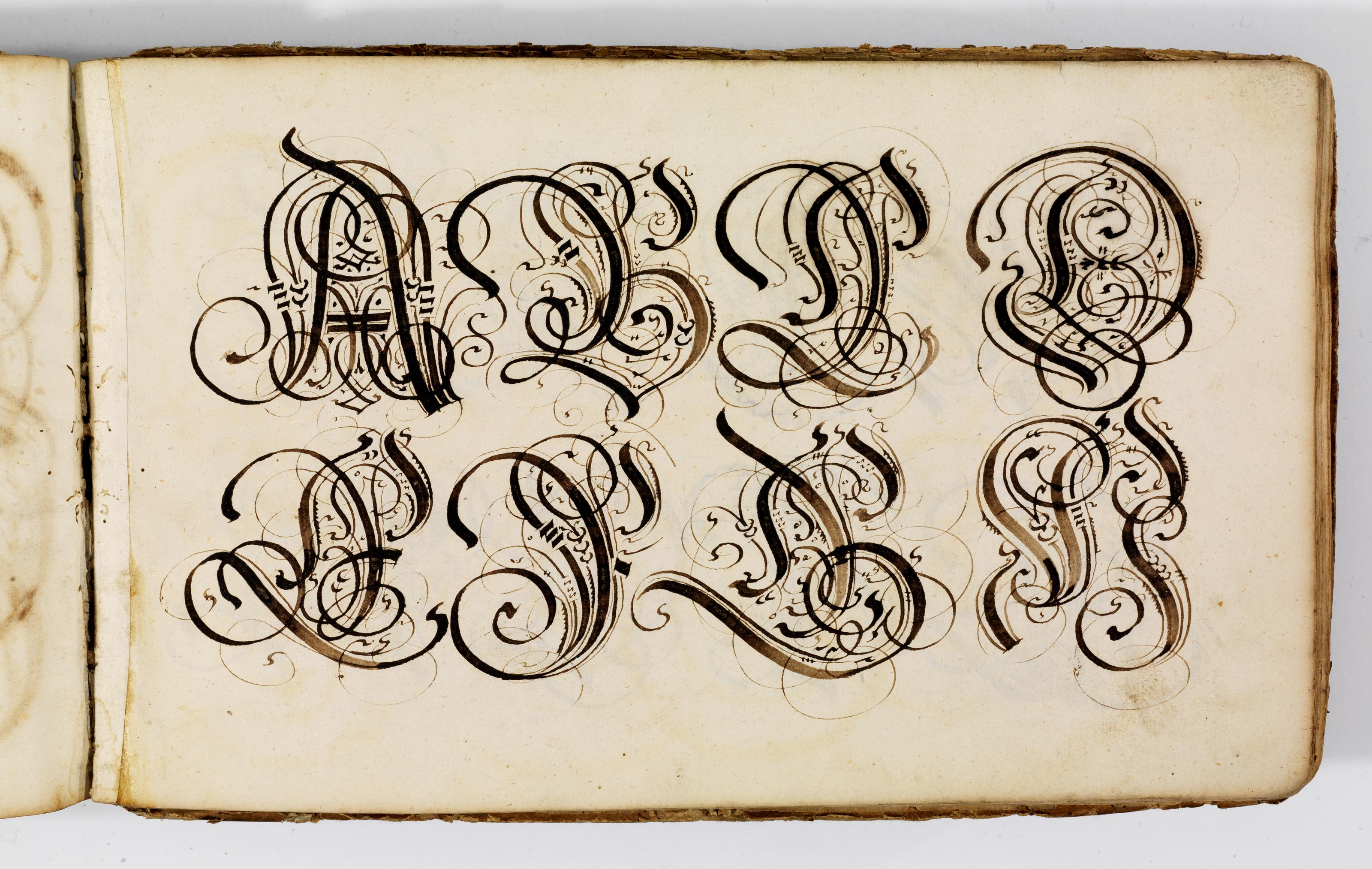 A Spectacular Cadel Gothic Script Broad Or Edged Pen