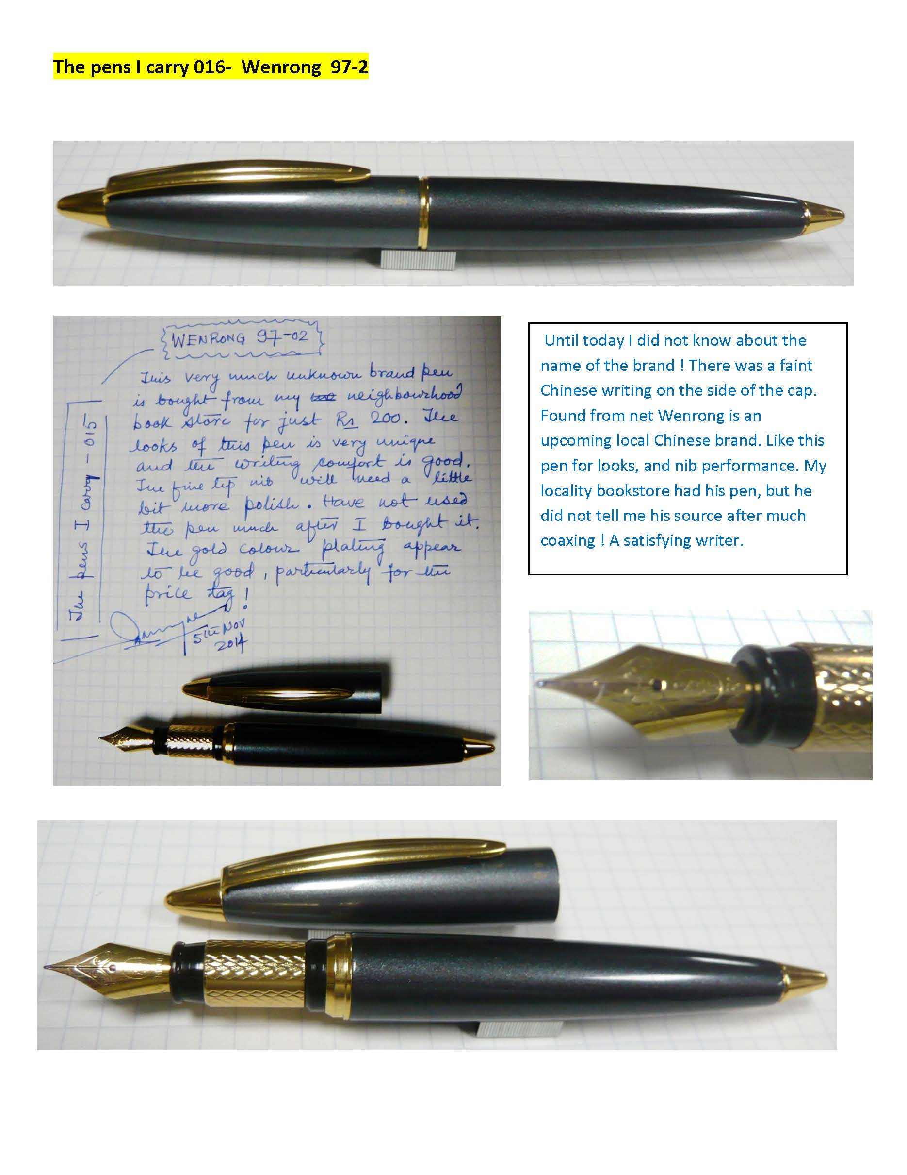 Cheap brand fountain pen, Buy Quality fountain pen directly from China  fountain pen brands Suppliers: jinhao 250 luxury Brand metal Noble  Stainless Fountain ...