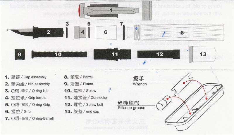 fountain pen network twsbi 580 crack