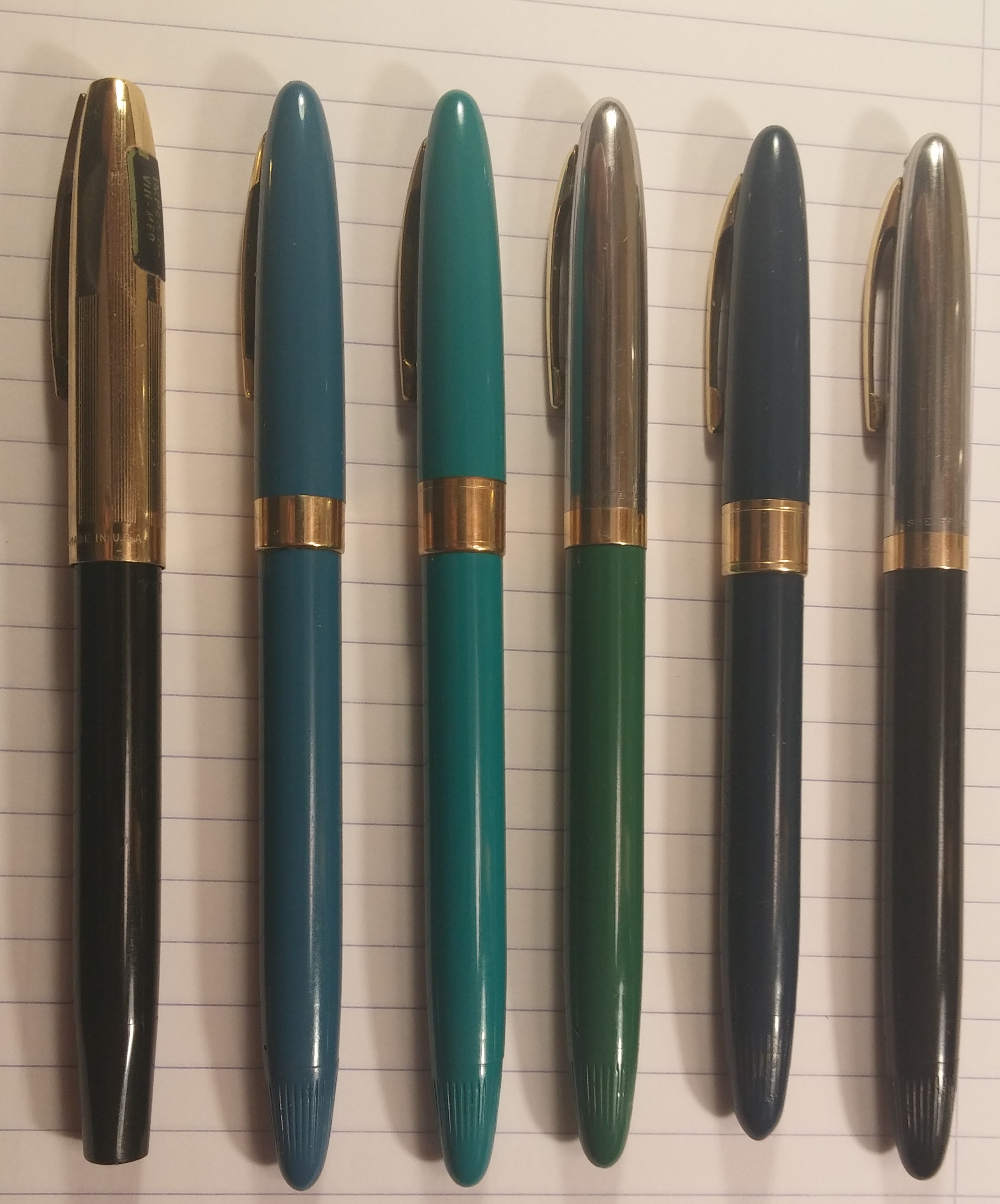how to clean a sheaffer fountain pen