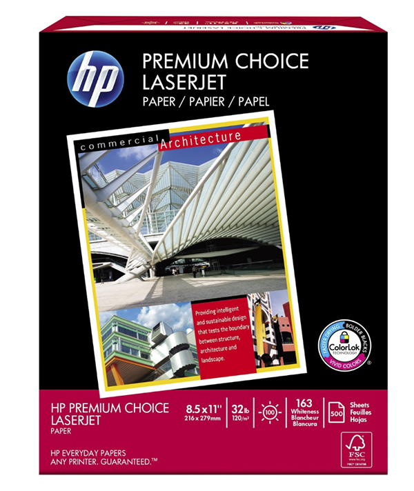 c2cf316a8f4 Hp Premium Choice Laserjet Paper Paper - There Are Two Kinds - Paper ...