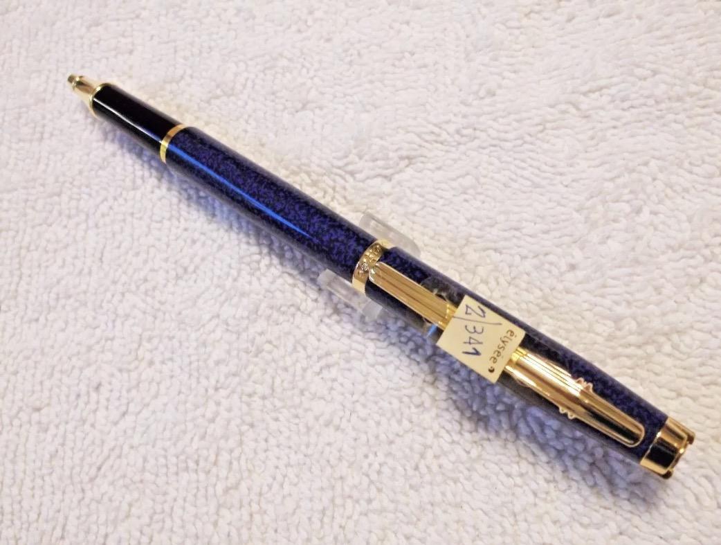 Elysee En Vogue Lapis Blue Ballpoint Pen