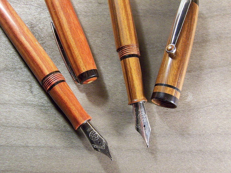 All Wood Fountain Pens Pen Turning And Making The