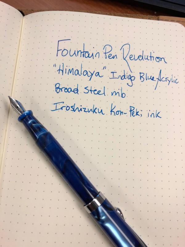 fountain pen revolution himalaya hard to beat at this price