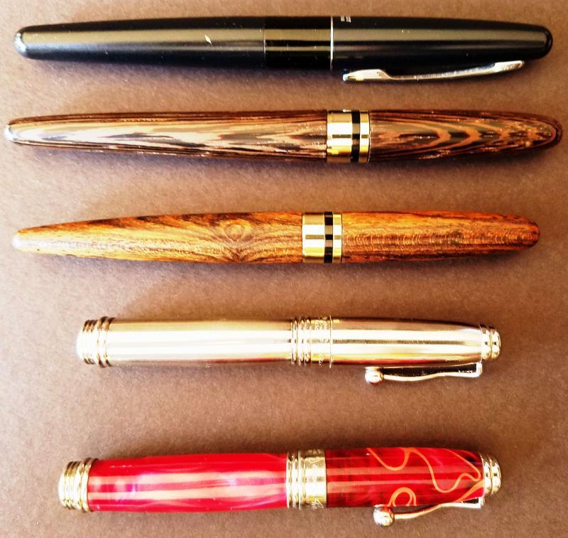 NAGASAWA Profit Fountain Pen Demonstrator PROSKE 14K Clear Sailor Con New Japan