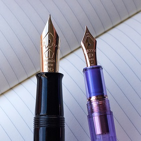 Truphae Nibs Fountain Pens Pilot Namiki Emperor and Platinum Pen.jpg