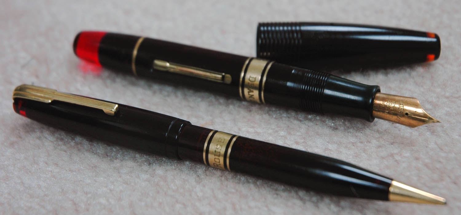 A curious oversize 100 year pen pencil set waterman for Waterman 16