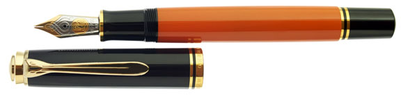 pelikan-m800-burnt-orange-special-edition-uncapped.jpg