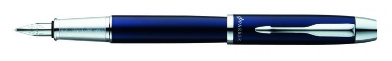 Parker IM metál tölt?toll kék, ezüst klipsz S0856210.jpg