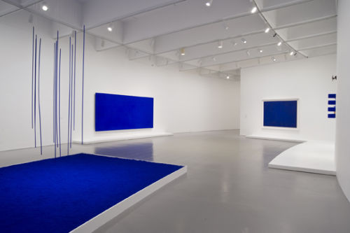 International Klein Blue Inky Thoughts The Fountain