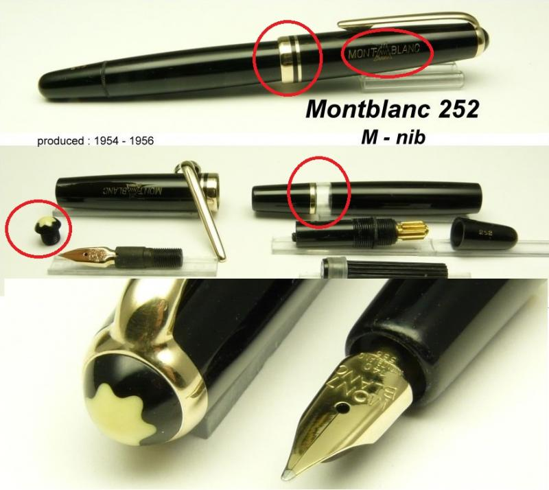 Montblanc 252 Modifications Montblanc The Fountain Pen