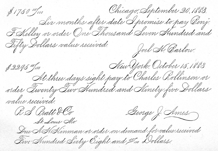 Spencerian Penmanship Worksheets - Sharebrowse