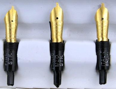 Osmiroid 75 Fountain Pen Calligraphy Set 6 Nibs Uk