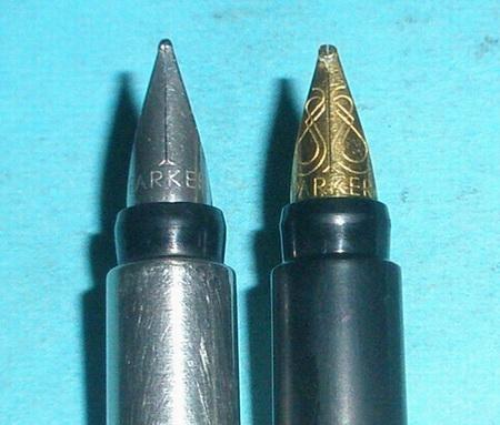 Parker 88 Rialto vs Vector 005.JPG