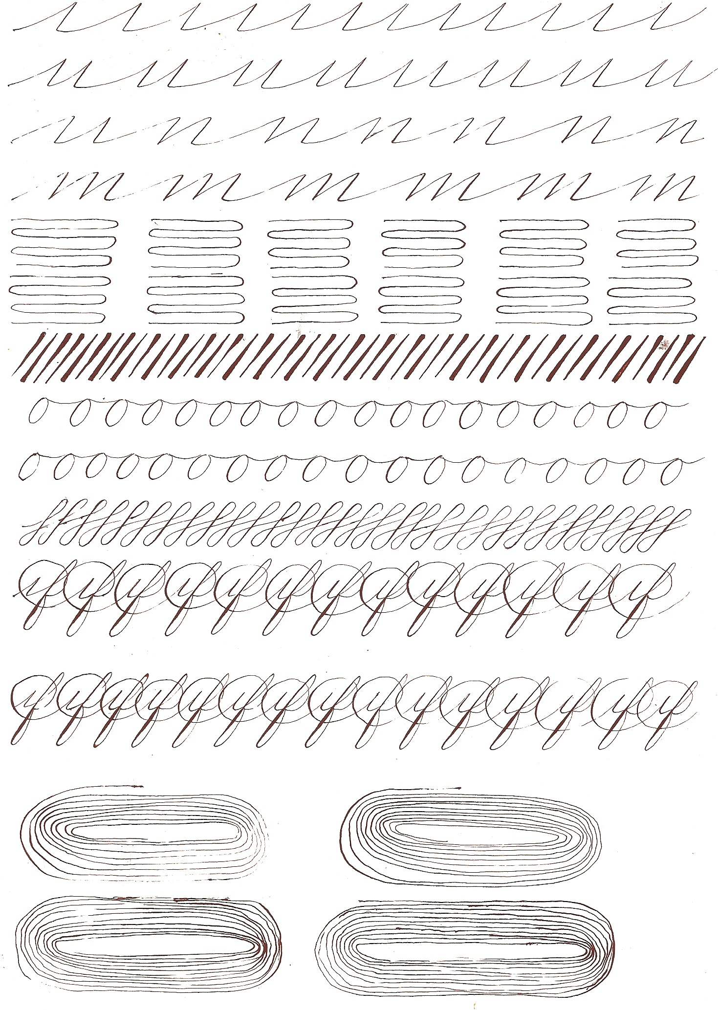 Worksheets Spencerian Penmanship Worksheets learning spencerian page 4 pointed pen calligraphy the 1 jpg