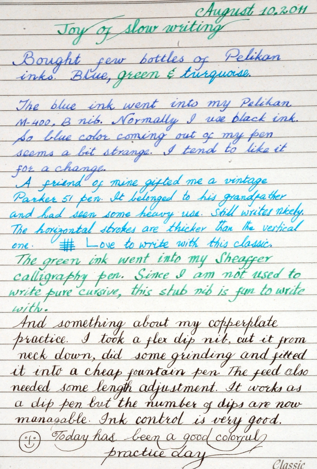 fun with handwriting practice - page 3