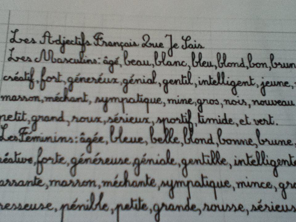 Just how to Write in Lovely Cursive Handwriting