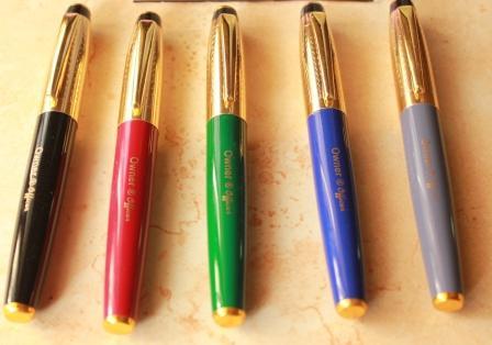 Pen Dora S Bag Officer Fountain Pen By Owner India