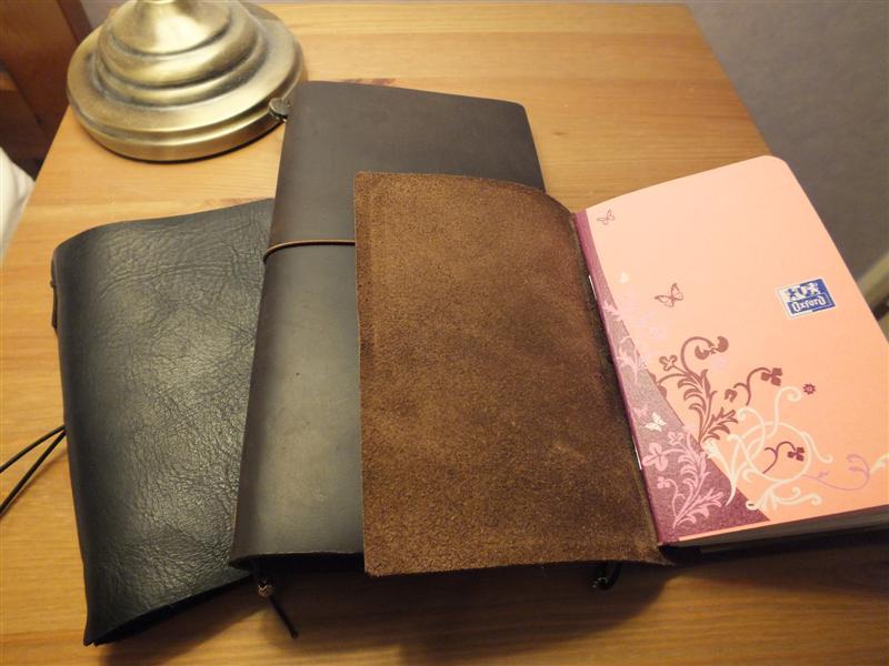 "Homemade ""midori""-Style Leather"