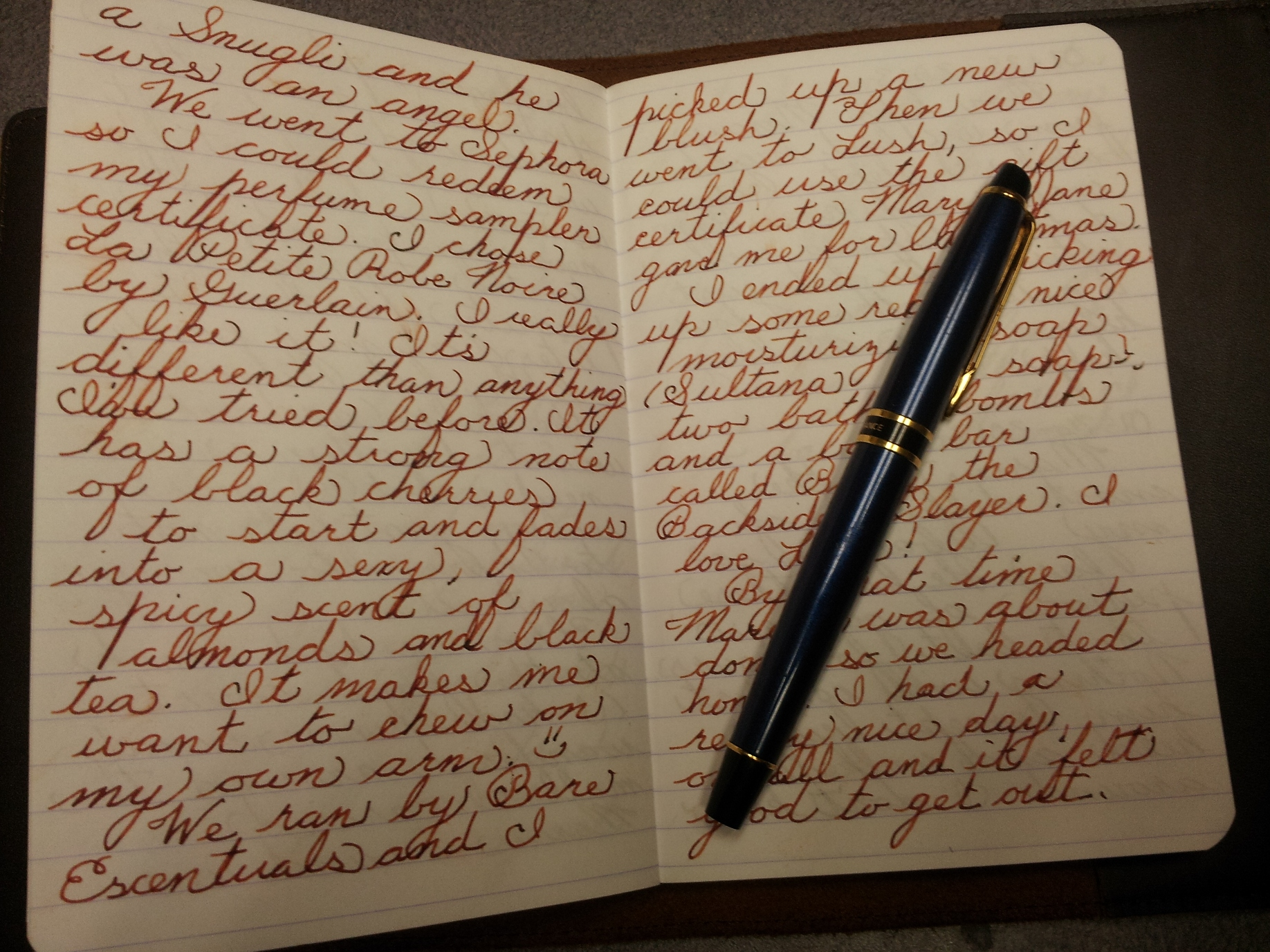 Lined Journals And Penmanship Calligraphy Discussions